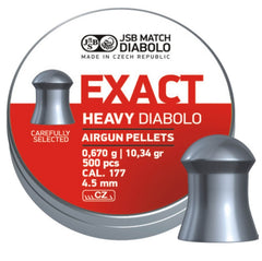 JSB Exact Heavy .177 / 4.52mm - 10.34gr / 0.670grm