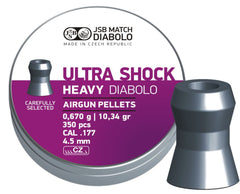 JSB Diabolo Heavy Ultra Shock .177 - 10.34gr / 0.670g / 4.50mm - 350pc