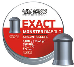 JSB Exact Monster .177 / 4.52mm - 13.43gr / 0.870g