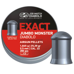 JSB Exact Jumbo Monster Diabolo .22 Cal - 5.52mm