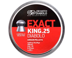 JSB Exact King Diabolo .25 Cal - 6.35mm, 25.39gr