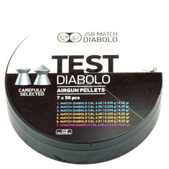 JSB Match Diabolo Test Middle Weight .177 (350 tin