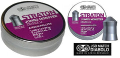 JSB STRATON JUMBO MONSTER .22 Cal - 5.5mm - 25.39g
