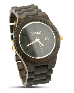 Yesah Bear Wooden Watch