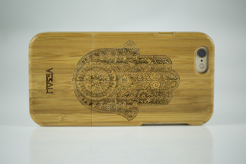 Hamsa Bamboo iPhone Case - Yesah