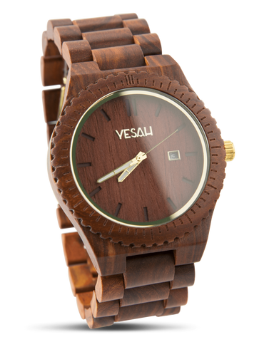 Yesah Hawk Wooden Watch