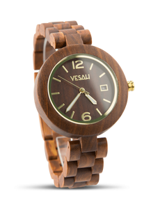 Yesah Mama Hawk Wooden Watch