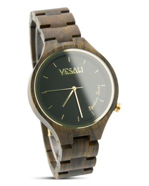 Yesah Signature Series Bear Wooden Watch