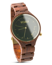 Load image into Gallery viewer, Yesah Signature Series Hawk Wooden Watch