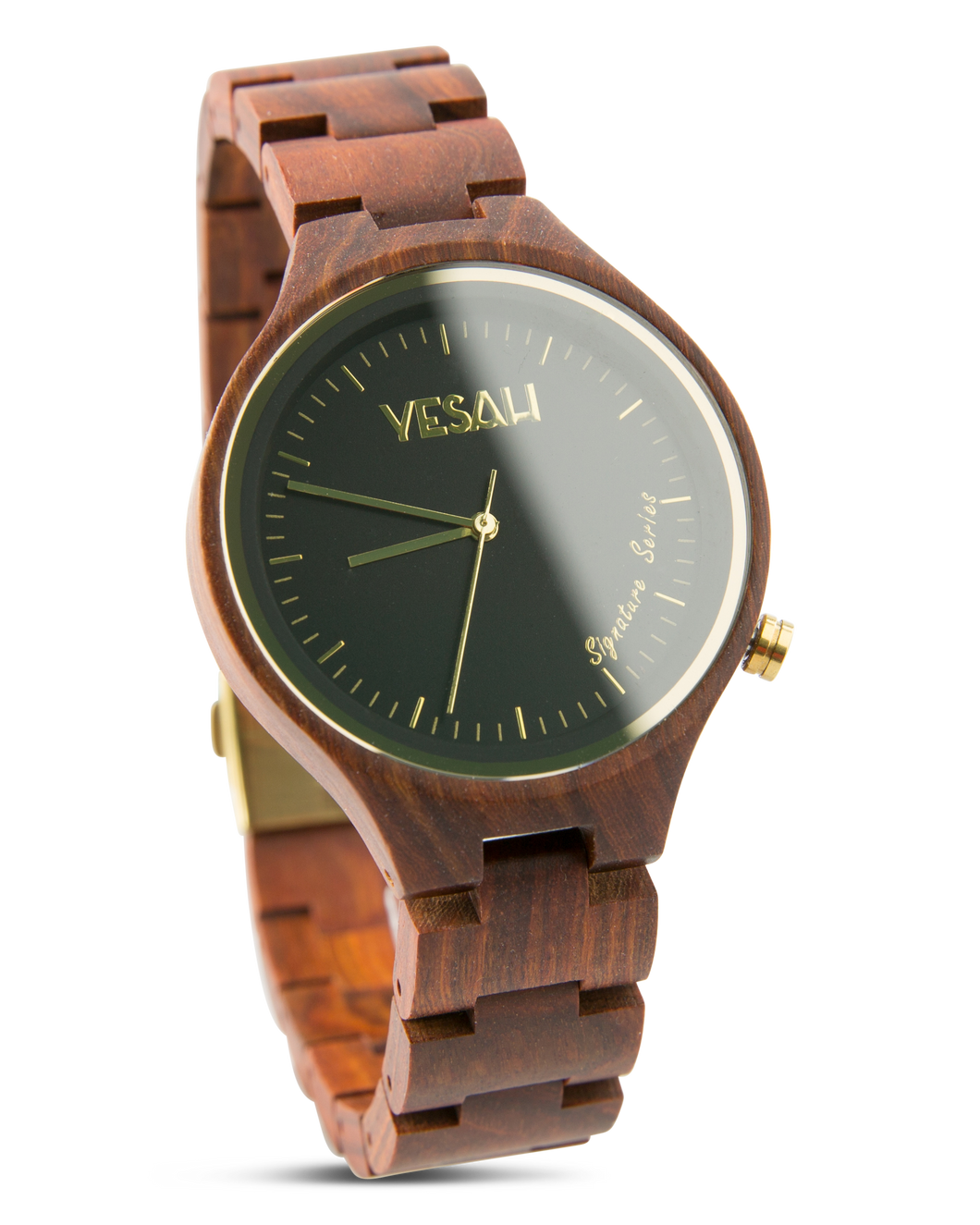 Yesah Signature Series Hawk Wooden Watch