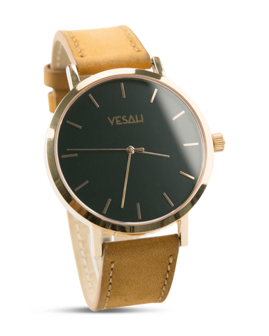 Yesah Stainless Steel Series Black And Gold