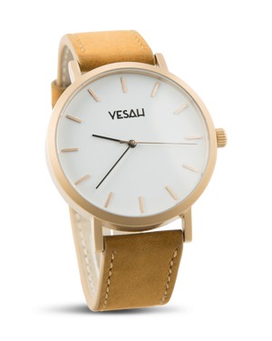 Yesah Stainless Steel Series White And Gold