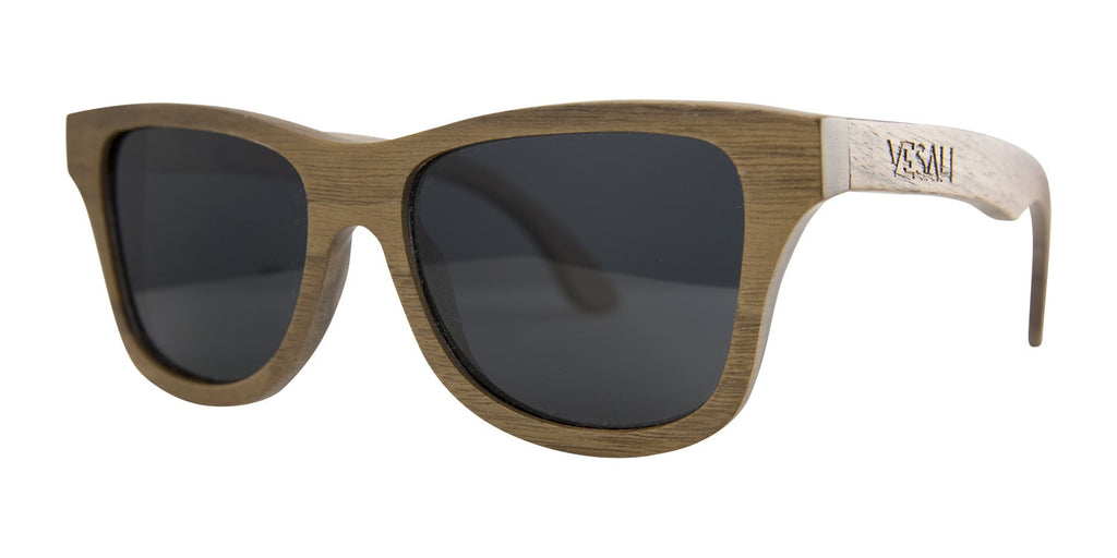 Yesah Walnut Wayfarer Wooden Sunglasses