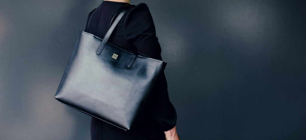 Hampton Tote Bag in Leather