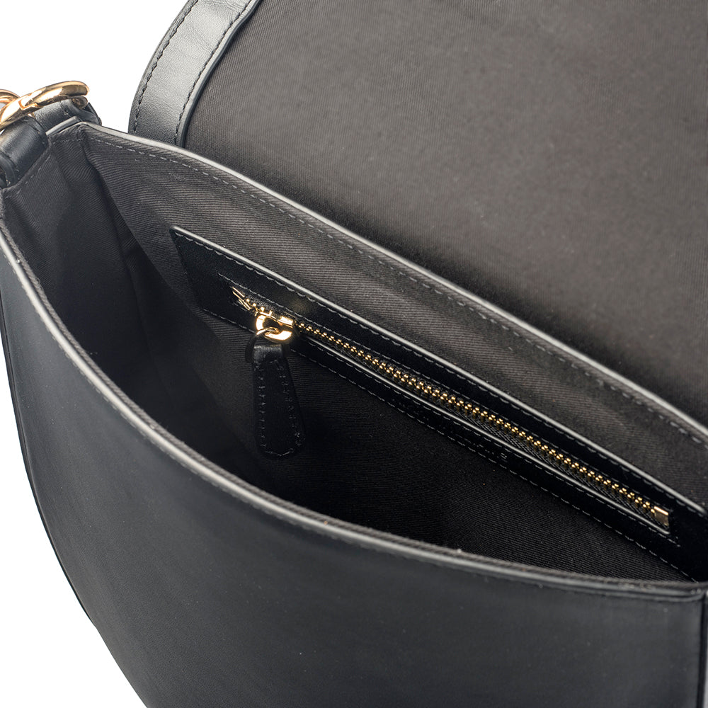 Black Crossbody Bag Internal