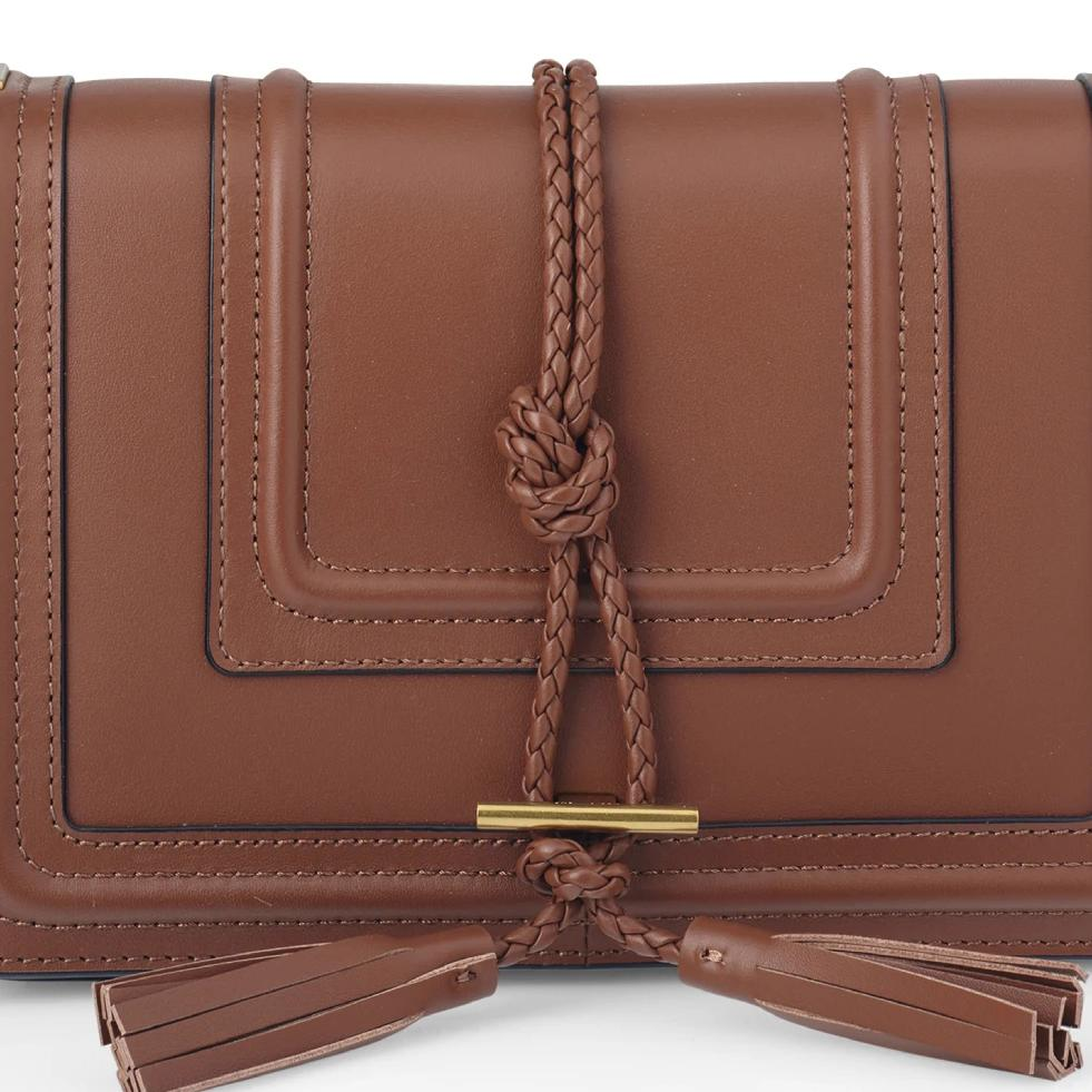 Beau Crossbody Bag in Tan