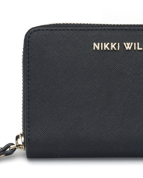 Designer Wallet by Nikki Williams in 100% Saffiano Leather
