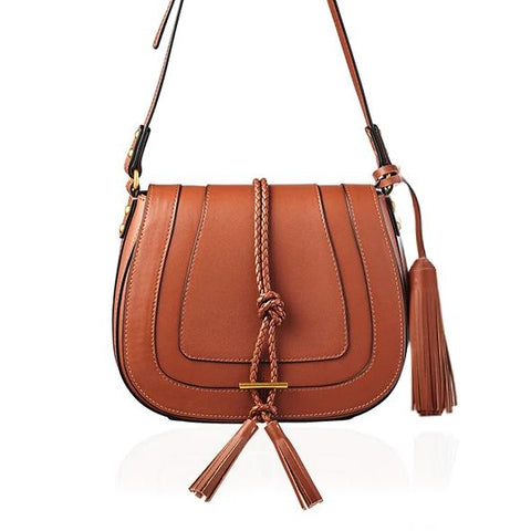 Saddle Bag with Tassels