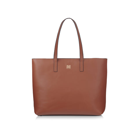 Women's Designer Tan Leather Tote
