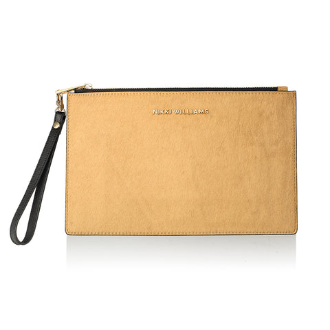 Calfhair Clutch Purse