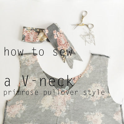 V-neck Tutorial