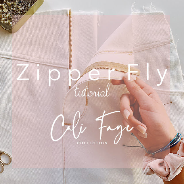 Zipper Fly Tutorial