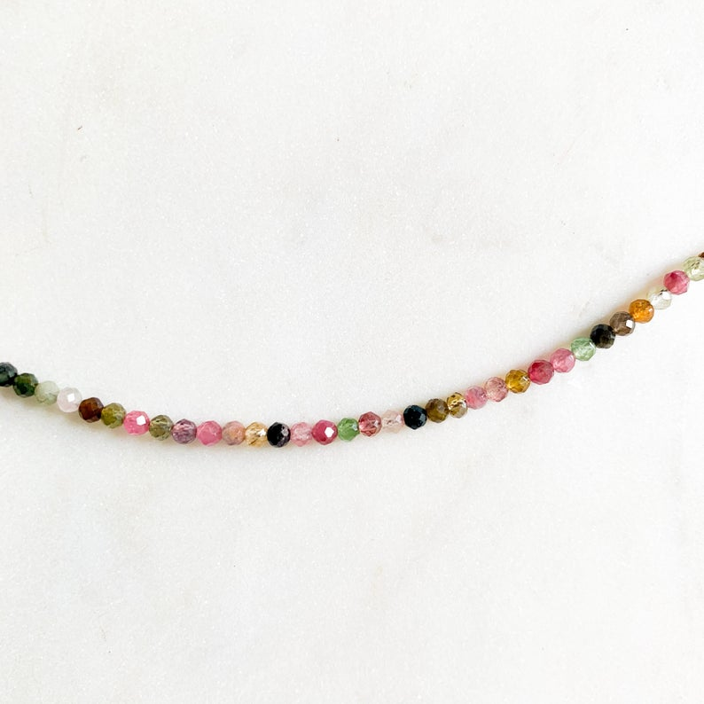 Tourmaline Gemstone Necklace