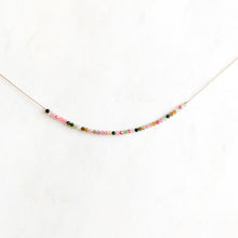 Load image into Gallery viewer, Tourmaline Gemstone Necklace