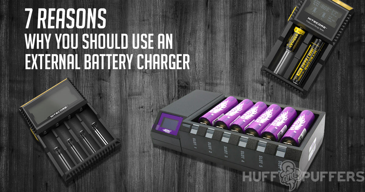 7 reasons why you should use an external battery charger - huffandpuffers blog