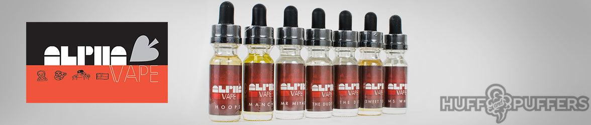 Alpha Vape E Juice