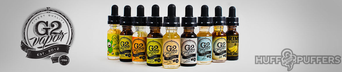 G2 Vapor Premium E-Juices