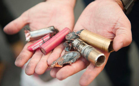 Batteries that have shorted and exploded