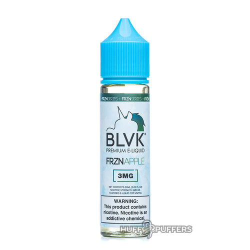 frznapple 60ml e-juice bottle by blvk unicorn