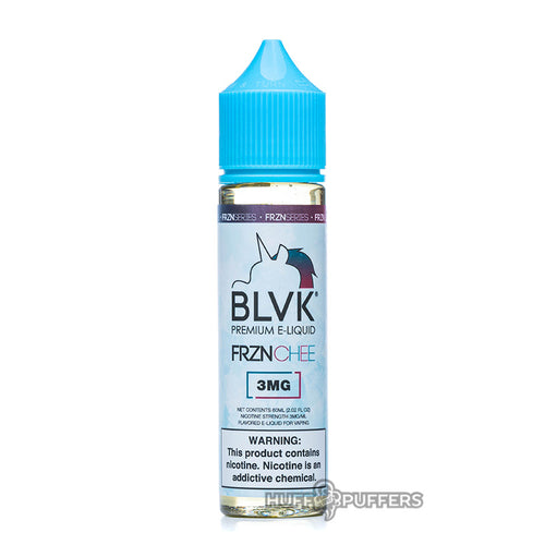 frznchee 60ml e-juice bottle by blvk unicorn