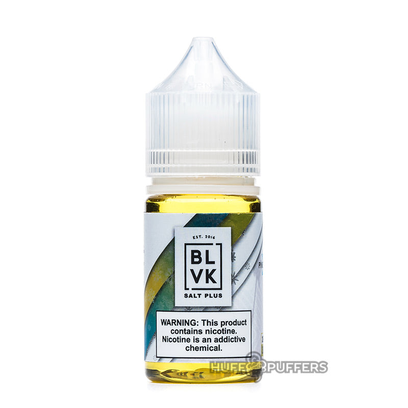 pineapple ice 30ml bottle by blvk salt plus