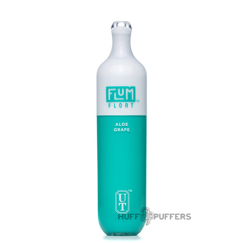 flum float disposable vape aloe grape inside packaging