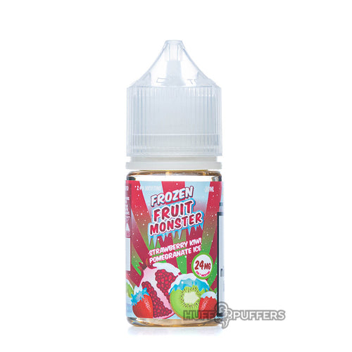 strawberry kiwi pomegranate ice 30ml e-juice bottle by frozen fruit monster salt