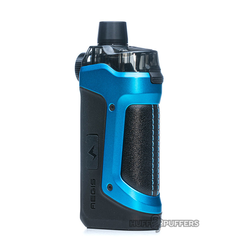 geekvape aegis boost pro device in almighty blue back view