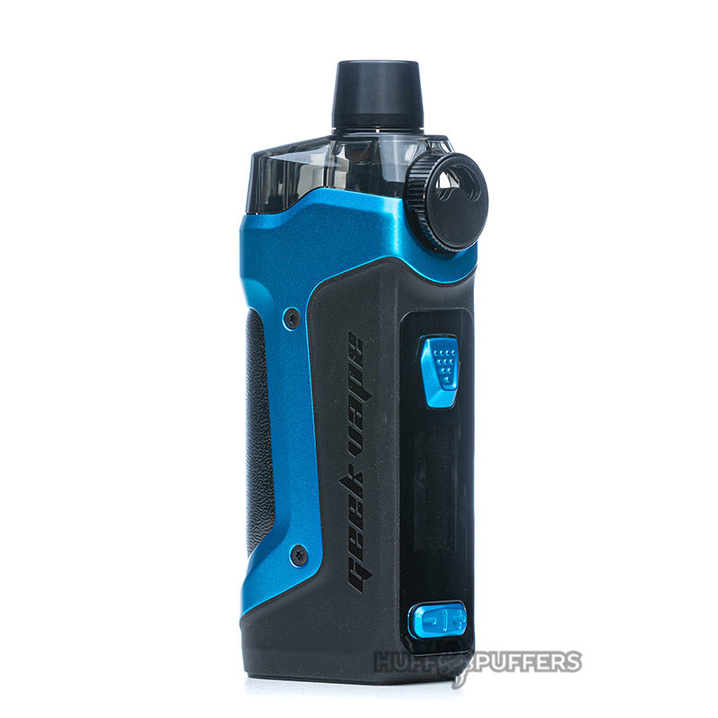 geekvape aegis boost pro device in almighty blue front view