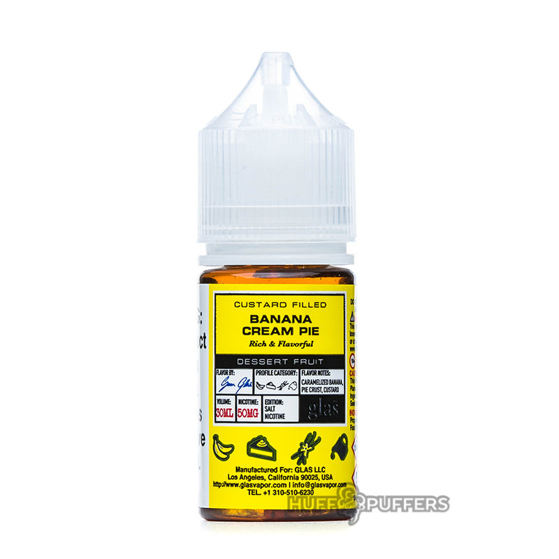 glas basix salt banana cream pie 30ml bottle