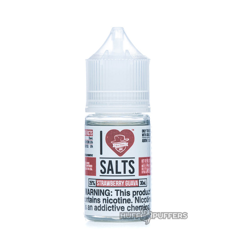 i love salts strawberry guava 30ml bottle by mad hatter juice