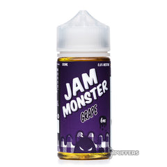 jam monster e liquid - grape