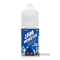 jam monster salt - blueberry
