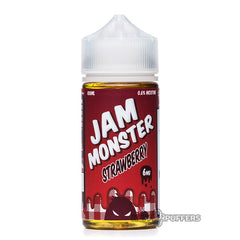 strawberry by jam monster e liquid