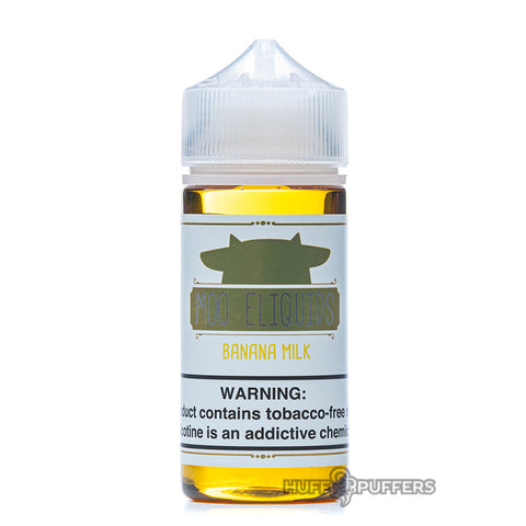 Moo eLiquids - Banana Milk 30mL