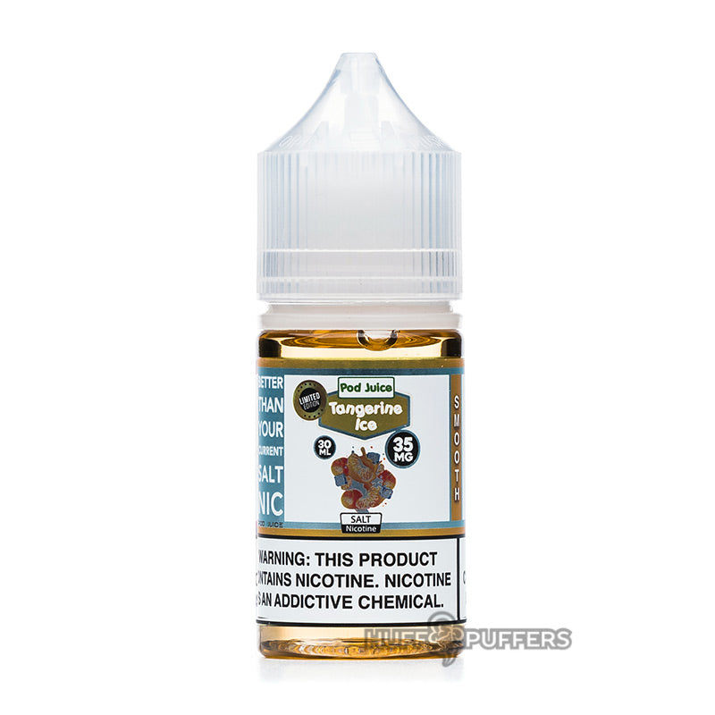pod juice tangerine ice 30ml bottle