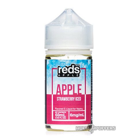 vape 7 daze reds apple strawberry iced