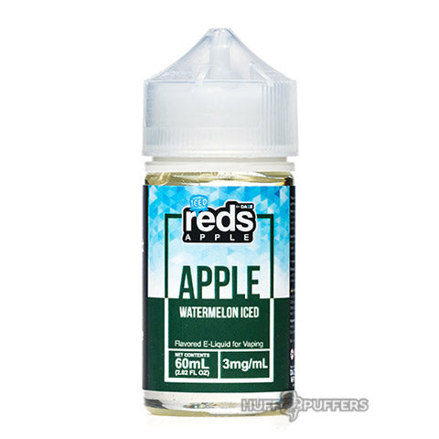vape 7 daze reds apple watermelon iced