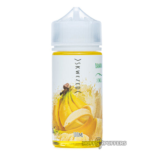 skwezed banana 100ml e-juice bottle