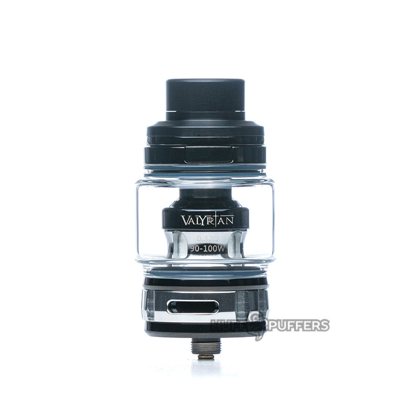 uwell valyrian 2 sub ohm tank in black and silver